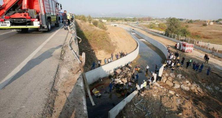 Τραγωδία στην Τουρκία: 22 μετανάστες νεκροί από πτώση φορτηγού σε κανάλι (Φωτό)