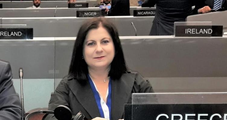Η Μ. Τριανταφύλλου στην συνέλευση της Παγκόσμιας Διακοινοβουλευτικής Ένωσης στη Γενεύη