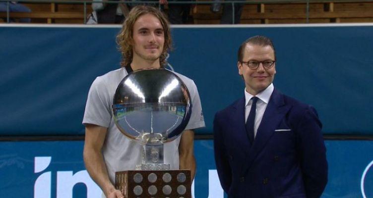 Stockholm Open: Πρώτος τίτλος ATP στην καριέρα του Στέφανου Τσιτσιπά
