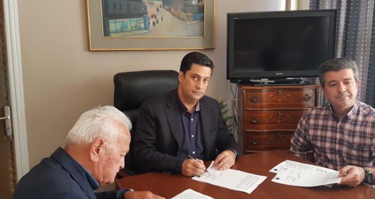 Δήμος Αγρινίου: Υπογραφή 1ου έργου Βιώσιμης Αστικής Ανάπλασης