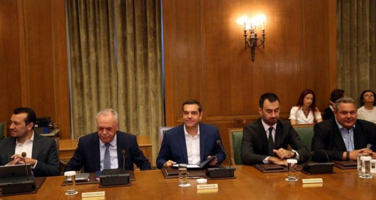 Ο πρωθυπουργός Αλέξης Τσίπρας συγκαλεί αύριο το Υπουργικό Συμβούλιο