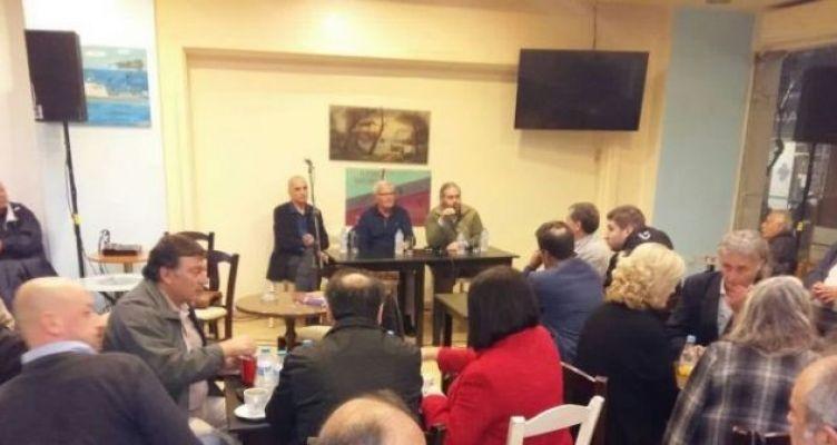 Αγρίνιο: Εκδήλωση του ΣΥ.ΡΙΖ.Α. για το Πολυτεχνείο με ομιλητή τον Γ. Βαρεμένο (Φωτό)