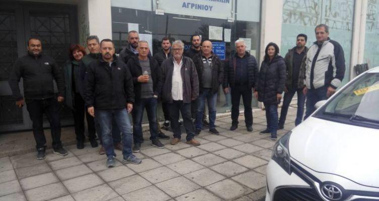 Αγρίνιο: Κινητοποίηση εκπαιδευτών οδηγών (Φωτό)