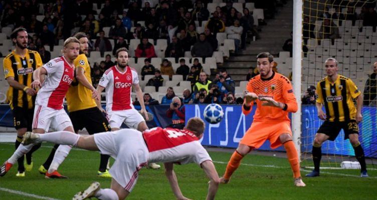 Champions League: Νέα ήττα και ευρωπαϊκός αποκλεισμός για την Α.Ε.Κ.