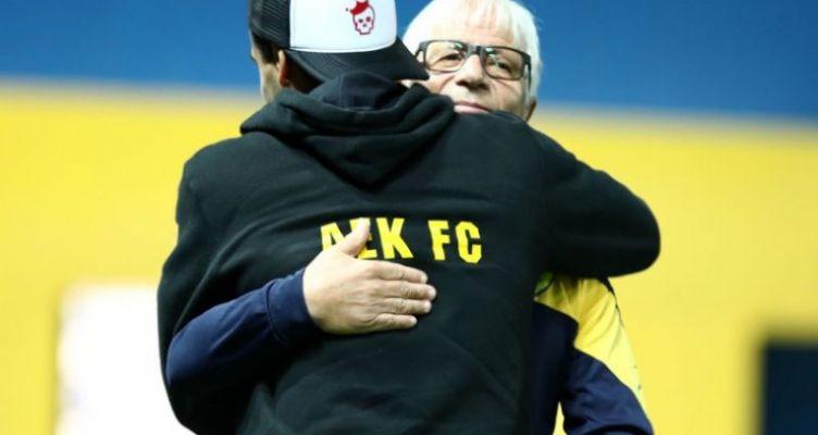 Super League: Ωραίες στιγμές πριν τον αγώνα στο Αγρίνιο (Φωτό)