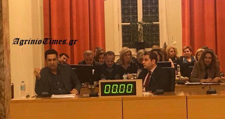 Δήλωση του Δημάρχου Αγρινίου για τον Απολογισμό Πεπραγμένων της Δημοτικής Αρχής 2017