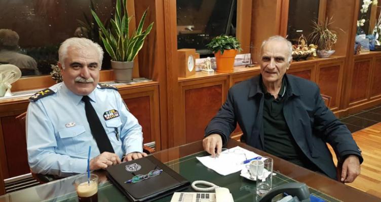 Συνάντηση Βαρεμένου με τον Αρχηγό ΕΛ.ΑΣ. για μεταστέγαση Διεύθυνσης Αιτωλίας