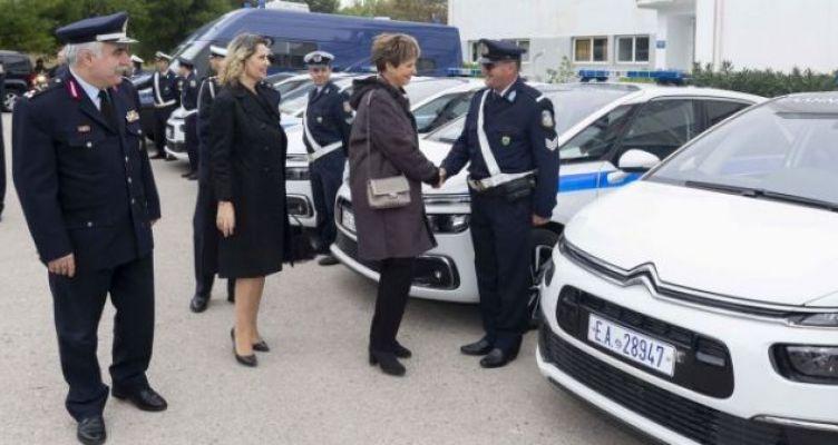 Νέα οχήματα στο νεοϊδρυθέν Τμήμα Τροχαίας Αυτοκινητοδρόμων της Ιόνιας Οδού