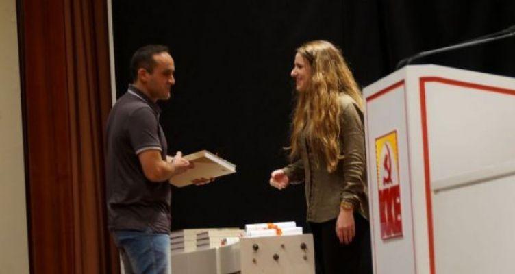 Ο Aιτ/νας Κ. Λίχνο κατέκτησε το 3ο βραβείο στο Διαγωνισμό Πρωτότυπου Λογοτεχνικού Έργου (Φωτό)