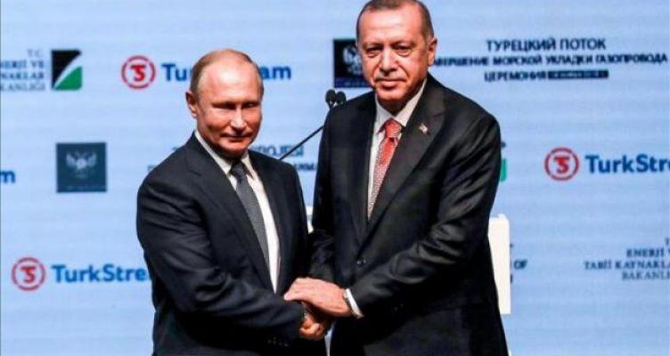TurkStream: Πούτιν και Ερντογάν «κυνηγούν» συμφωνία δισεκατομμυρίων ευρώ