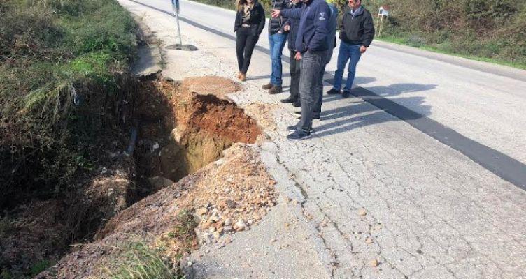 Π.Ε. Αιτ/νίας:  Εργασίες συντήρησης επαρχιακών οδικών τμημάτων