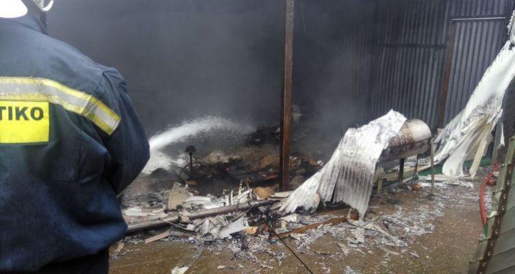 Αγρίνιο: Φωτιά σε μονοκατοικία στην περιοχήΕλευθερία στον Άγιο Ιωάννη τον Ρηγανά (Φωτό)