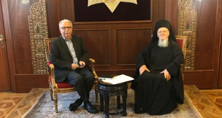 Επίσκεψη του Υπουργού Παιδείας, Κωνσταντίνου Γαβρόγλου στο Οικουμενικό Πατριαρχείο