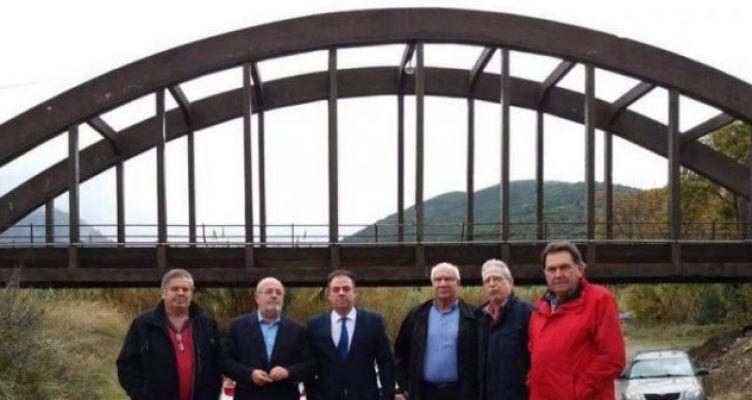 Σύσκεψη στη γέφυρα του Μόρνου, που οριοθετεί την Αιτωλ/νία και τη Φωκίδα (Φωτό)