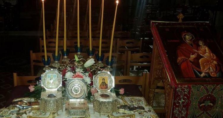 Πανηγυρική Ιερά Αγρυπνία στον Ι.Ν. Αγίου Γεωργίου Καμαρούλας Αγρινίου