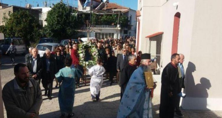 Καλύβια Αγρινίου: Λατρευτικές εκδηλώσεις για την Παναγία της «Γρίπης»