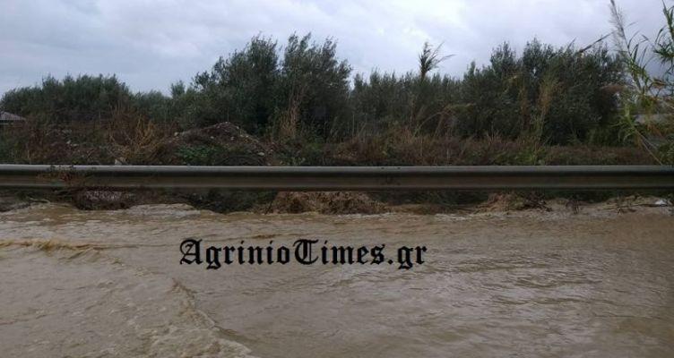 Πλημμύρισε χείμαρρος στο Κεφαλόβρυσο (Φωτό)