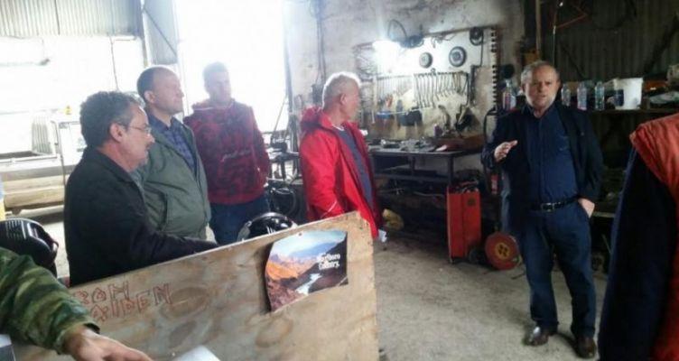 Κλιμάκιο της Τ.Ε. Αιτ/νίας του Κ.Κ.Ε. στην υπηρεσία καθαριότητας του Δήμου Αγρινίου