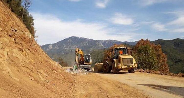 Εργοτάξιο η Κοιλάδα Αχελώου, προχωρά η κατασκευή των οδικών αξόνων (Φωτό)