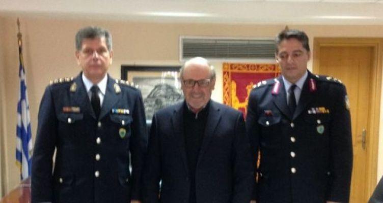Συνάντηση Λουκόπουλου με τον νέο Αστυνομικό Διευθυντή Αιτωλίας (Φωτό)