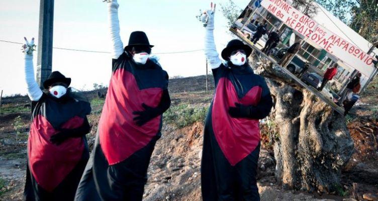 Μαραθώνιος: Συγκλόνισαν οι πυρόπληκτοι! Το μήνυμα του Ηλία Ψινάκη (Φωτό)