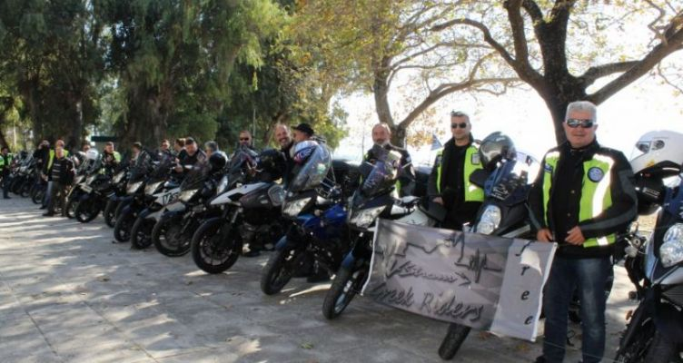 Εκδρομή στη Ναύπακτο από ομάδα μοτοσικλετιστών της Αθήνας