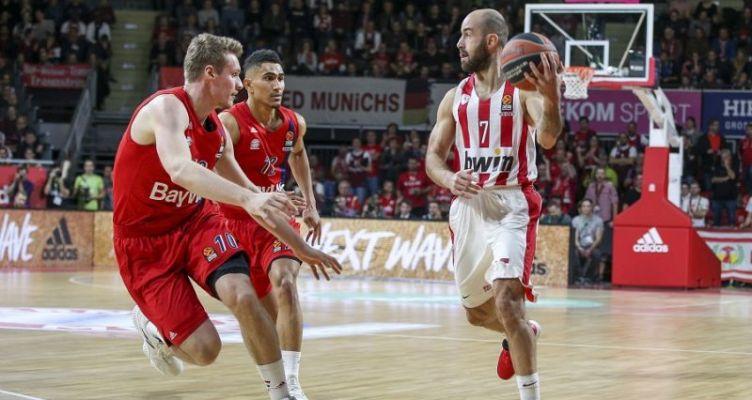 Euroleague Basketball: Ανάσα για τον Ολυμπιακό στο Μόναχο!
