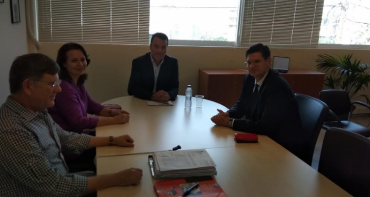 Συνάντηση του Ν. Μπαλαμπάνη με τον Δ. Καλαματιανό για θέματα Περιβάλλοντος