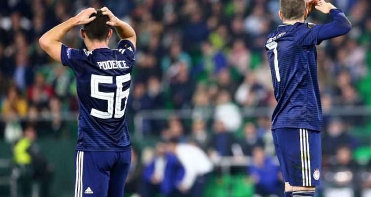 Europa League: «Λύγισε» στην Ισπανία, αλλά είναι ακόμα… όρθιος ο Ολυμπιακός!