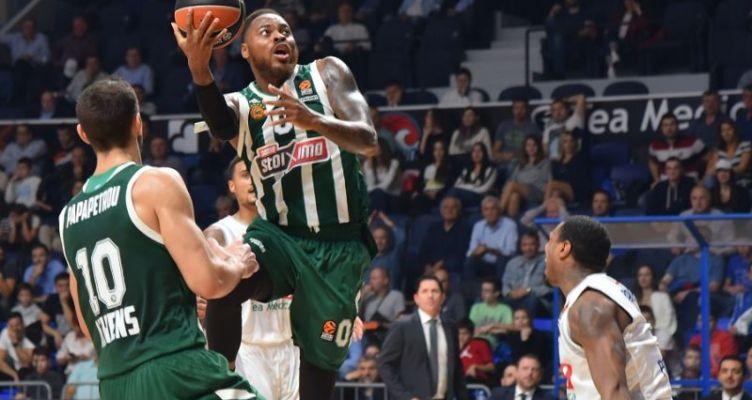 Euroleague Basketball: Πρώτο διπλό για Παναθηναϊκό στη φετινή σεζόν