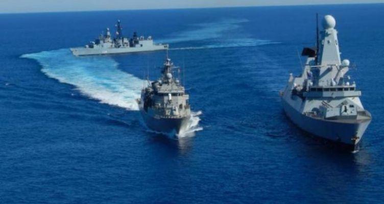 Δυο νατοϊκά πολεμικά σκάφη, στο βόρειο λιμάνι της Πάτρας