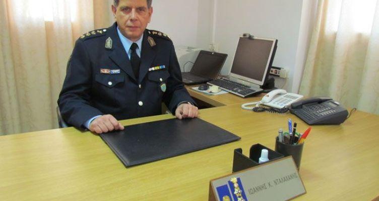 Το βιογραφικό του νέου Αστυνομικού Διευθυντή Αιτωλίας Ιωάννη Νταλαχάνη