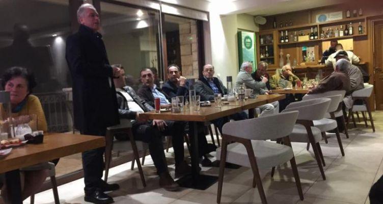 Προεκλογική επίσκεψη του Ντίνου Τσουκαλά στο Δημοτικό Διαμέρισμα Σκάλας