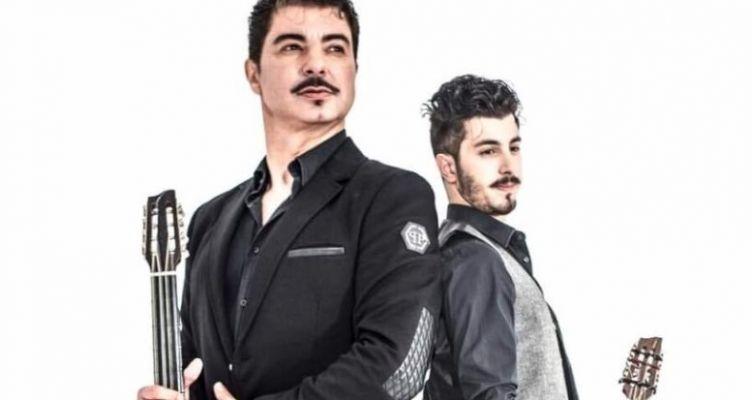 Ο Μιχάλης Τζουγανάκης με το γιο του Αλέξανδρο στο PanCafe LIVE στο Αγρίνιο!