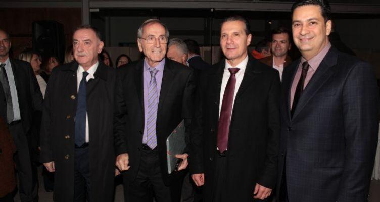 Υποδοχή του Δημάρχου Αγρινίου προς τους Ευρωπαίους Δημοσιογράφους (Φωτό)