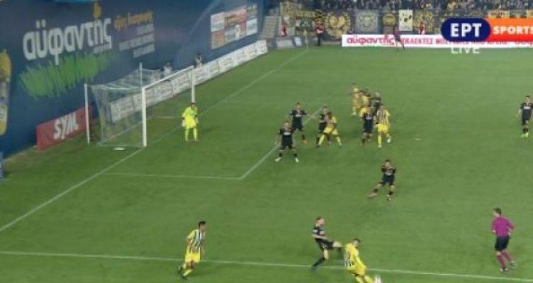 SL-Αγρίνιο: Ακυρώθηκε πεντακάθαρο γκολ για τον Παναιτωλικό! (Βίντεο)