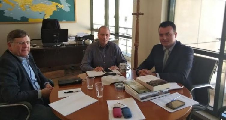 Συνάντηση Μπαλαμπάνη – Δερματά για περιβαλλοντικά ζητήματα