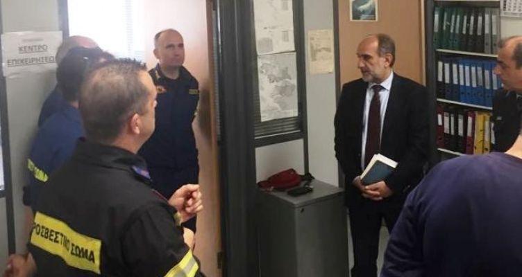 Πέντε νέα οχήματα στη διάθεση της Πυροσβεστικής Υπηρεσίας με χρηματοδότηση της Π.Δ.Ε.