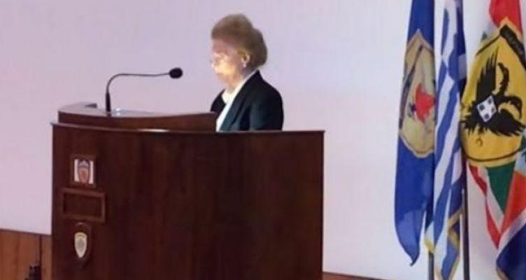 Η χήρα του Μεσολογγίτη Σπ. Μουστακλή μιλά για τον αξιωματικό-σύμβολο και το Πολυτεχνείο (Βίντεο)