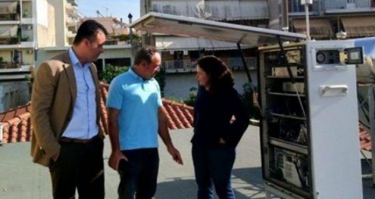 Αγρίνιο: Εγκαταστάθηκε Σταθμός Μέτρησης Ατμοσφαιρικής Ρύπανσης