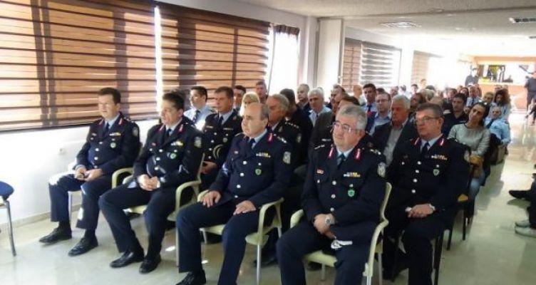 Ανάληψη καθηκόντων του νέου Γενικού Περιφερειακού Αστυνομικού Διευθυντή