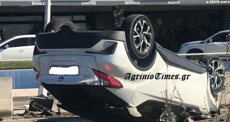 Έκτακτο: Αγρίνιο-Σοβαρό τροχαίο στην Εθνική οδό (Φωτό AgrinioTimes.gr)