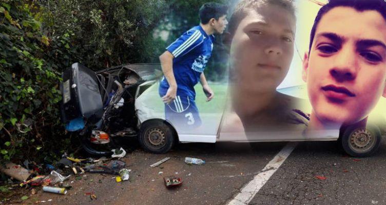 Θρήνος για τους τρεις 15χρονους που έσβησαν στην άσφαλτο (Φωτό)