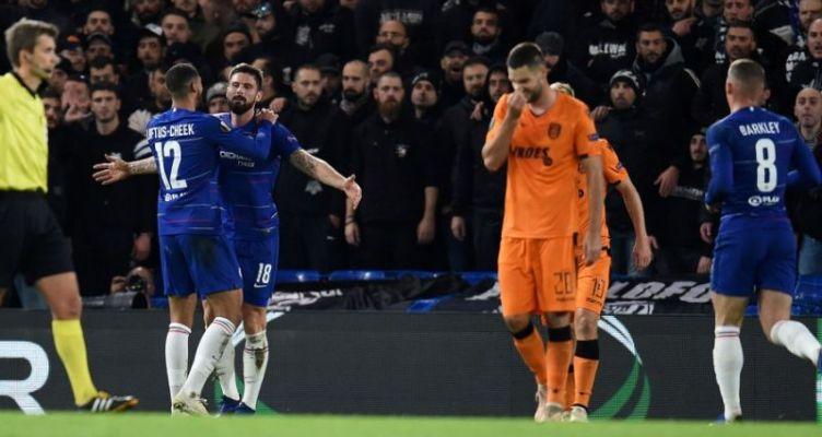 Europa League: Βαριά ήττα για τον Π.Α.Ο.Κ. που ελπίζει σε πρόκριση με νίκη επί της Μπάτε
