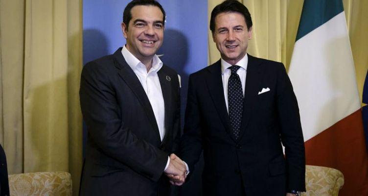 Διμερής συνάντηση Τσίπρα-Κόντε: Τι συζήτησαν στο Παλέρμο