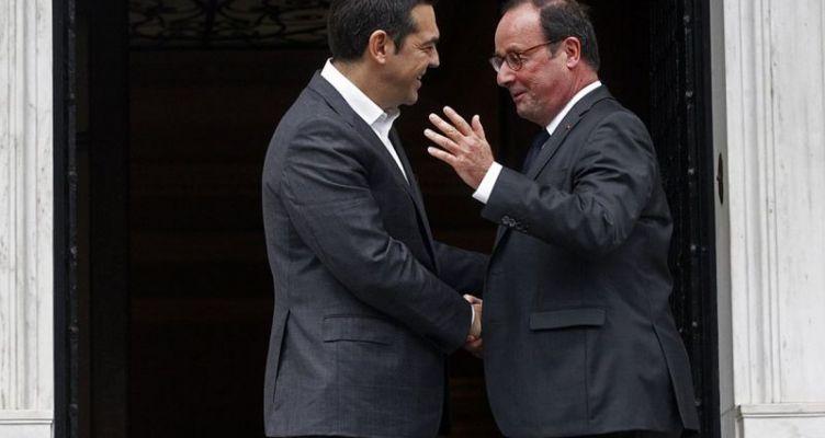 Τσίπρας προς Ολάντ: Ήσασταν ένας πραγματικός φίλος της Ελλάδας στα δύσκολα