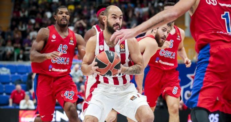 Euroleague Basketball: Καταστροφική η τρίτη περίοδος για τον Ολυμπιακό στη Μόσχα