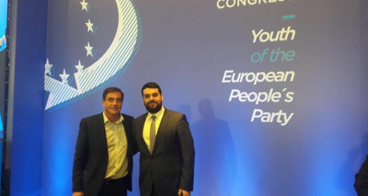 Στο συνέδριο της νεολαίας του ΕΛΚ ο Βασίλης Φεύγας