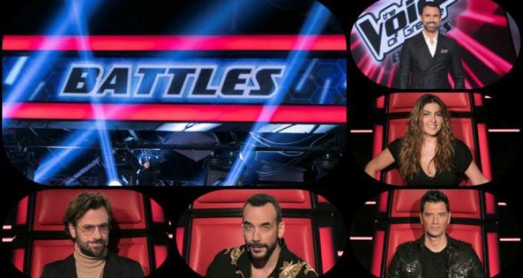 Απόψε αρχίζουν τα Battles του «The Voice of Greece» στον ΣΚΑΪ
