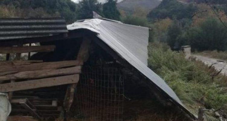 Μεσολόγγι: Σοβαρές ζημιές από την κακοκαιρία στον Άγιο Γεώργιο (Φωτό)